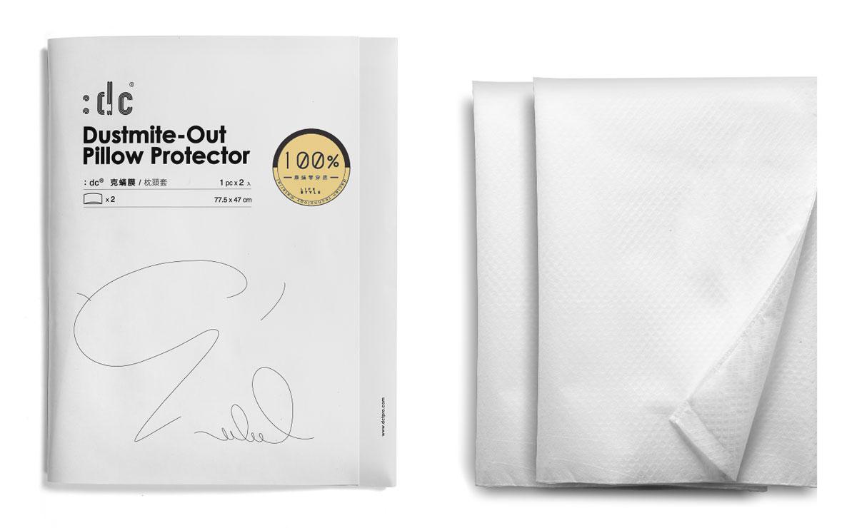 :dc 克蟎膜 防蟎阻菌枕頭套